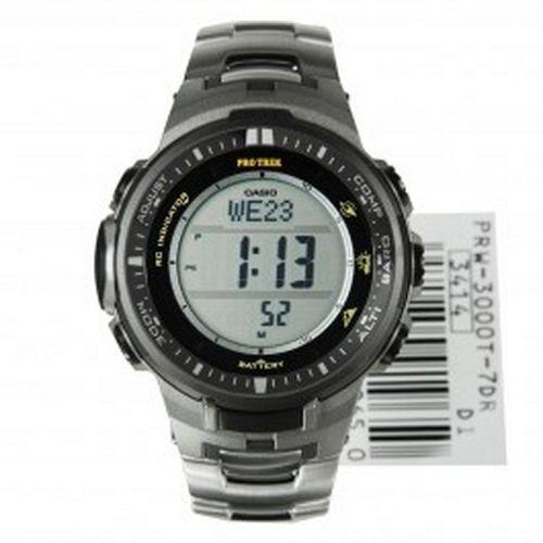 Casio Protrek Tough Solar Triple Sensor Watch PRW-3000T-7DR
