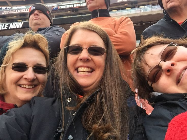 Sisters at the Browns vs Denver game 10-18-15