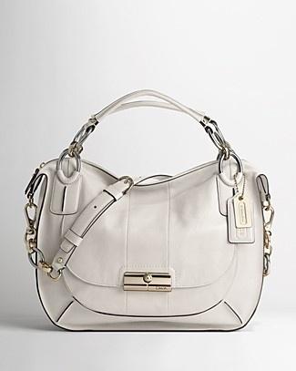 Love this bag! COACH Kristin Elevated Leather Sage Round Satchel - Satchels - Bloomingdales.com - StyleSays