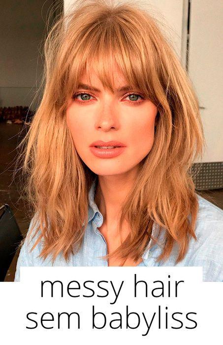 Aprenda como ter o Messy hair perfeito sem babyliss!