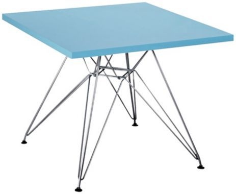 Zuo Wacky Blue Childrens Table