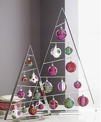 DIY Decoração: Árvores de natal diferentes!