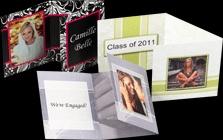 tri fold Press Cards