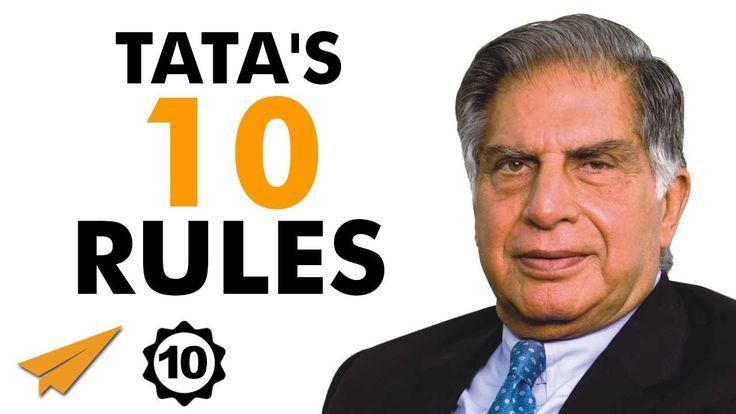 Ratan Tata Documentary - Ratan Tata's Top 10 Rules For Success