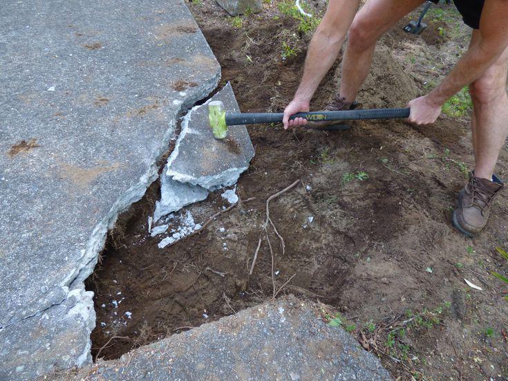 How To Break Up Concrete