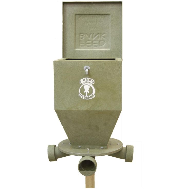 Banks Outdoors® Feed Bank 275-lb. Gravity Feeder