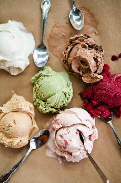 gorda con helado