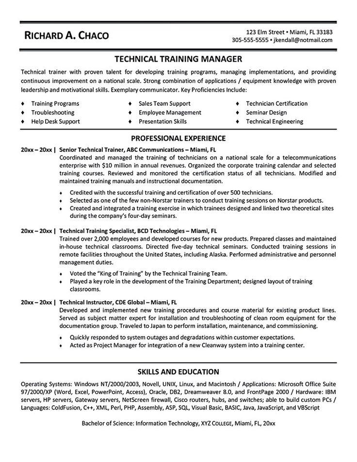 Personal Trainer Resume Should Explain An Expertise Area Of