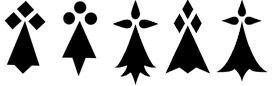 Symboles bretons et celtes (triskel, triskell, harpe, dragon, hermine)