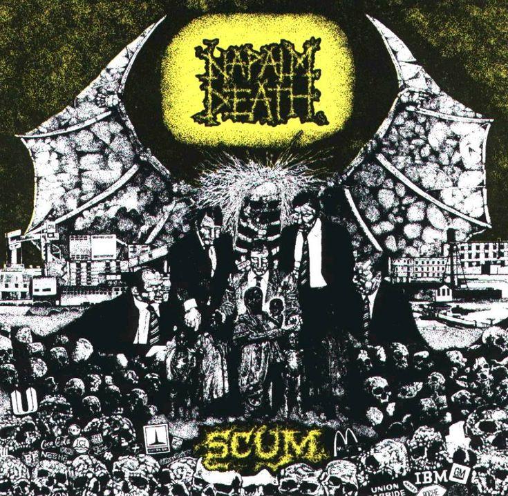Napalm Death - Scum (1987) - Grindcore - Birmingham, England
