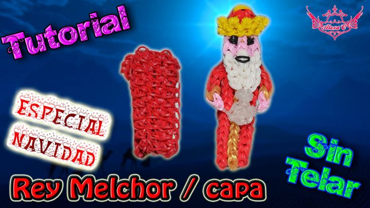 ♥ Tutorial[ESPECIAL NAVIDAD]: Rey Melchor / Capa (sin telar) ♥