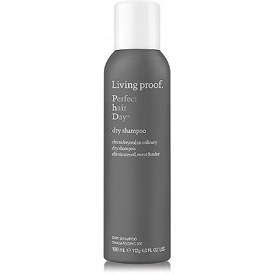 Living ProofPerfect Hair Day (PhD) Dry Shampoo ($22): for perfect matte locks, flip your head upside down and comb a dry shampoo through from root to tip, get gorgeous messy locks with volume