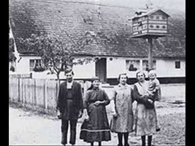 Hinterkaifeck is the name of a farm in Germany where, until 1922 the Gruber family lived. The family was killed with an ax. The killer remains unknown