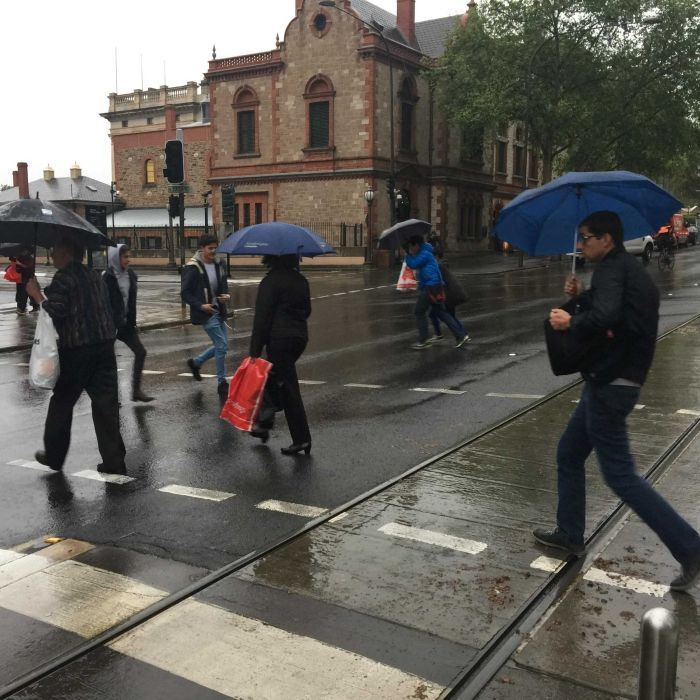 Thousands of people are without power across South Australia and Adelaide's CBD is plunged into darkness as a massive storm lashes the state.