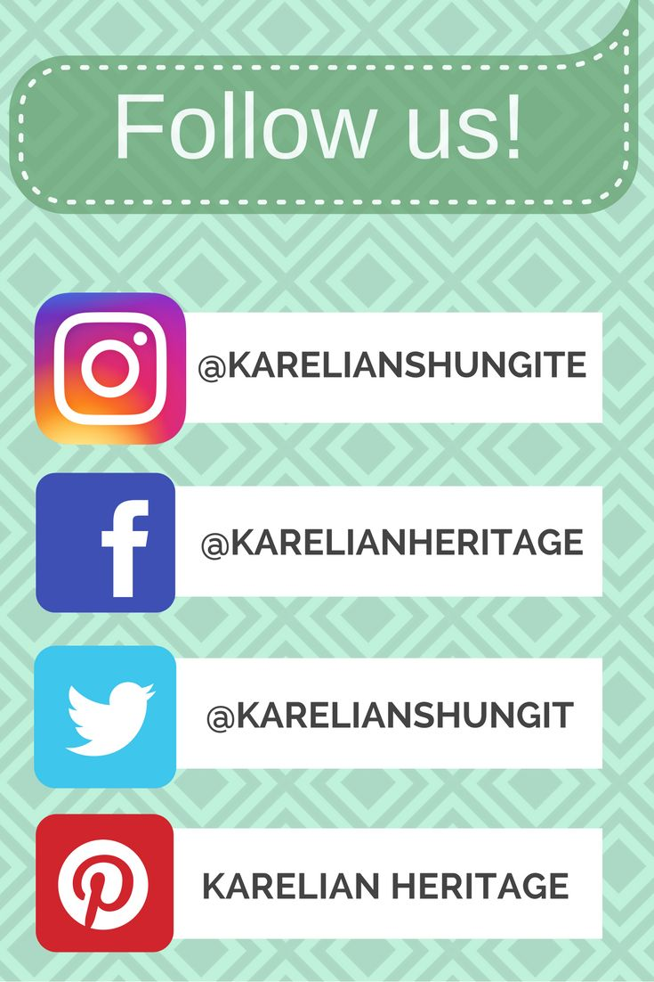 #FollowUs on your #favorite #SocialMedia! #Like, #share, #comment, and stay #connected on #Facebook, #Instagram, #Twitter and #Pinterest!