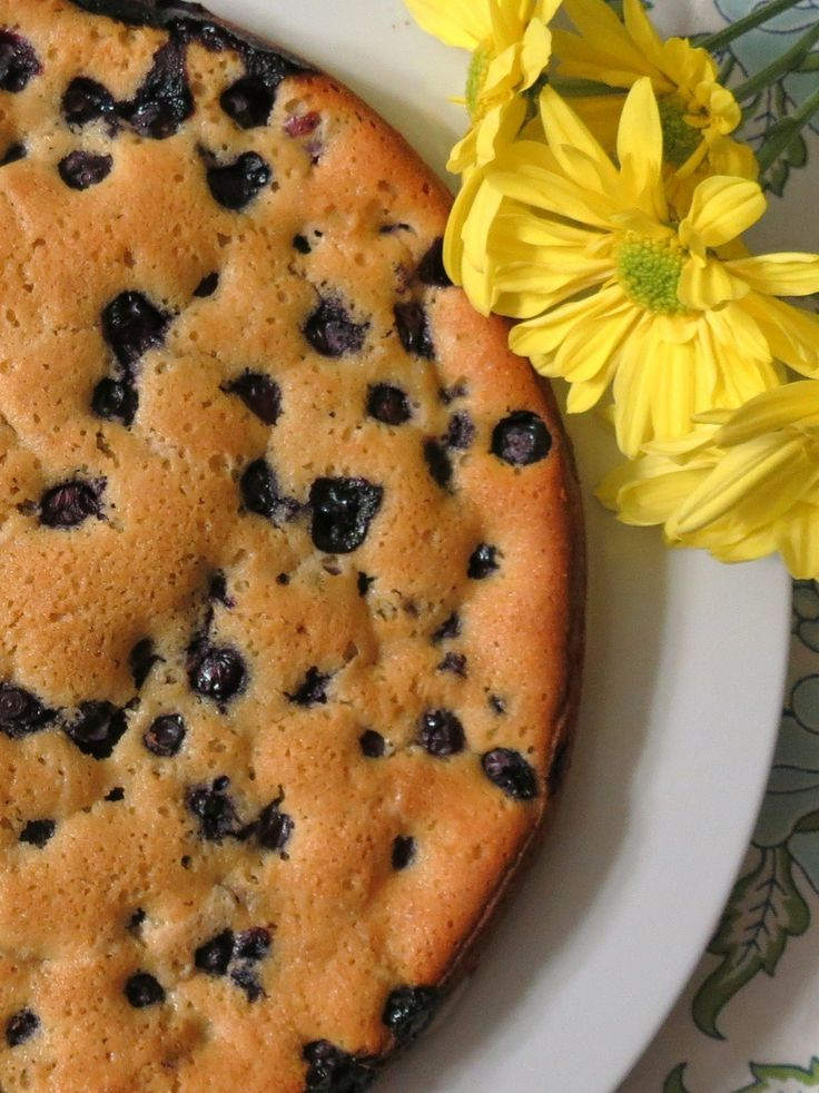 Blueberry nutmeg cake | *Healthy desserts* | Pinterest