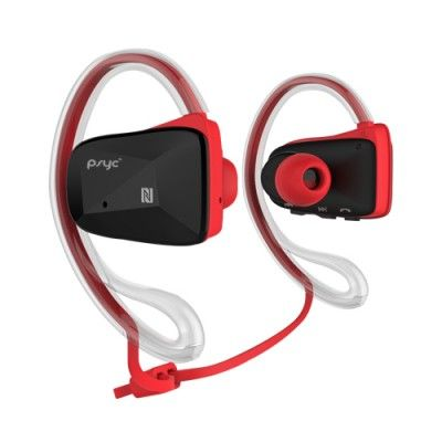 Psyc Elise SX Red Bluetooth Wireless Sport Earphones. Water Proof - Designed to withstand the most intensive workout conditions. So go ahead, move, sweat and rock hard.