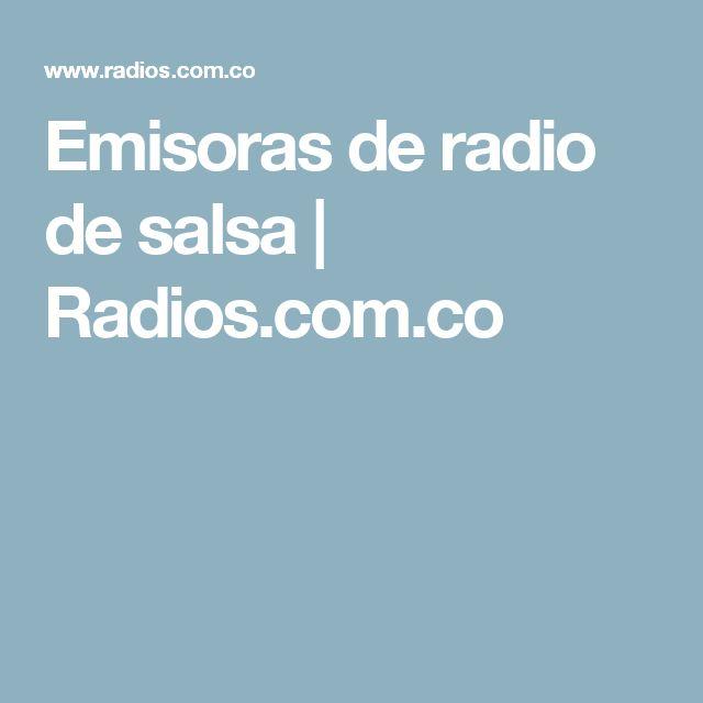 Emisoras de radio de salsa | Radios.com.co