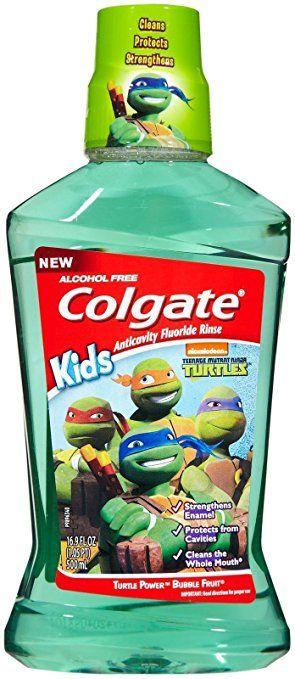 Colgate Mouthwash, Turtle Power Bubble Fruit – 16.9 oz Review