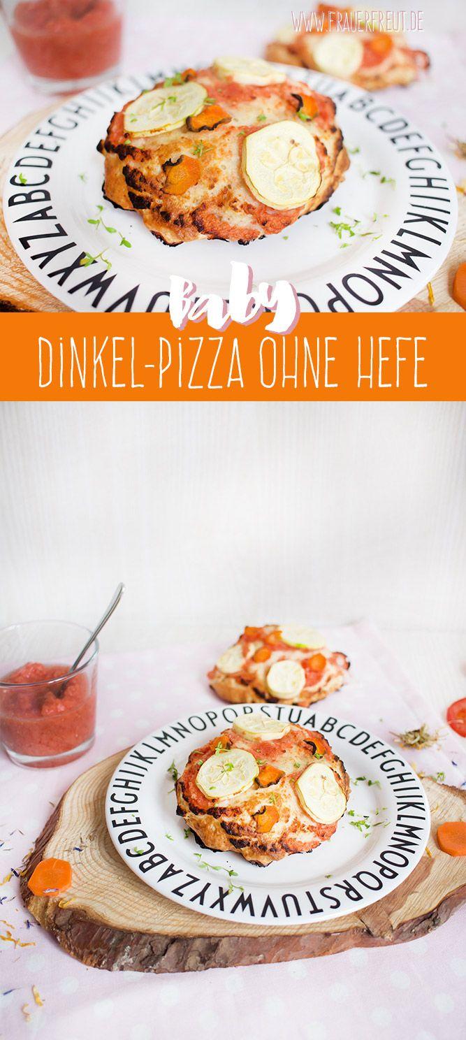 Babys erste Pizza ohne Salz und Zucker www.frauerfreut.de