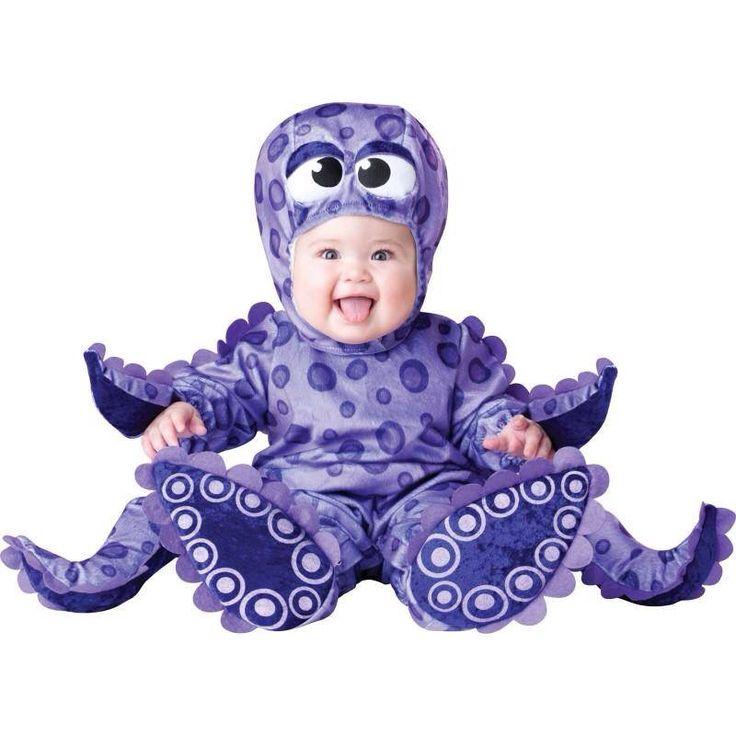 Bebé traje de pulpo