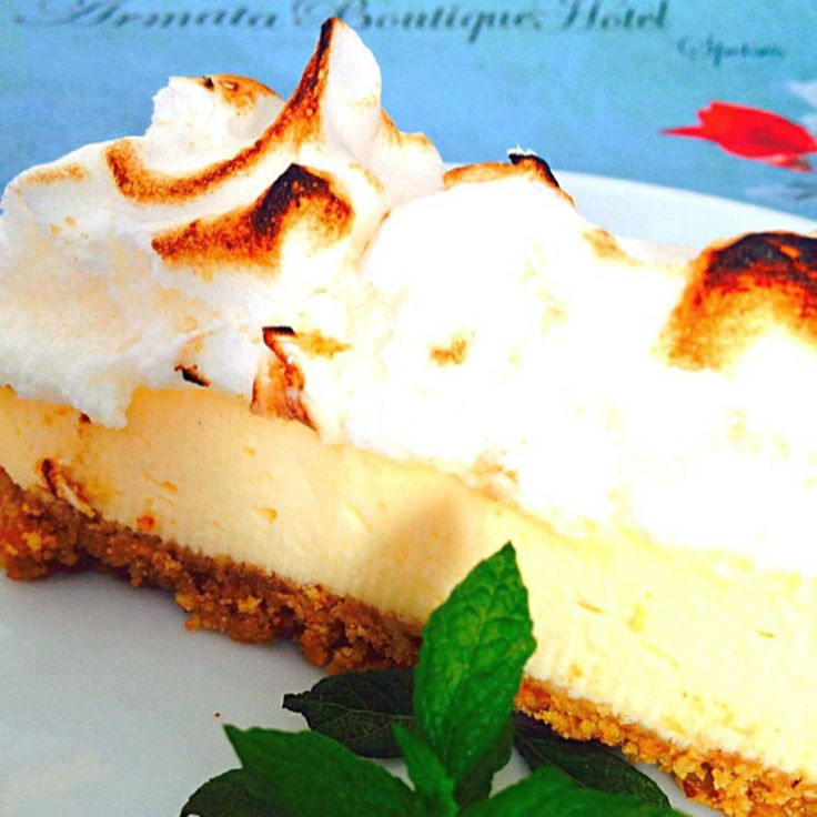 Fresh Homemade Lemon Pie at Armata Boutique Hotel #Spetses #Breakfast Buffet...!!!