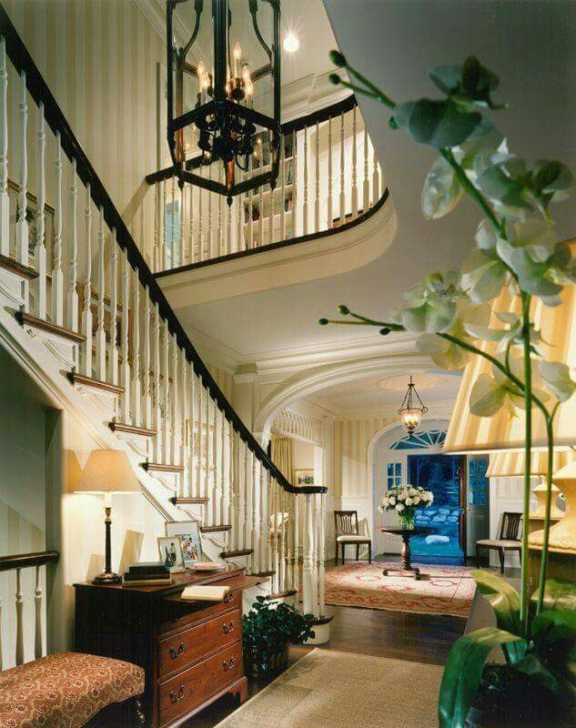 Foyer Staircase Uk : Love the stairway beautiful homes foyer home entryway