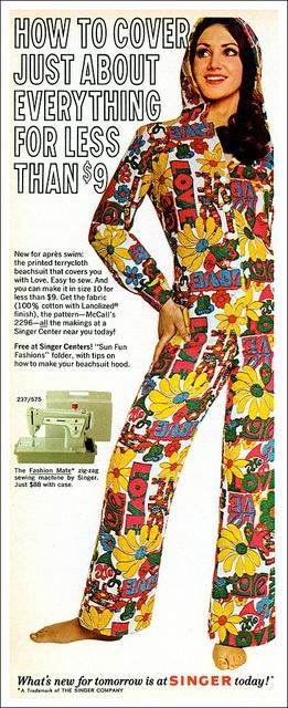 1970's Singer ad