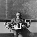Professor Norbert Wiener  American Mathematician Founder of Cybernetics  Mit  Cambridge  MA  1949