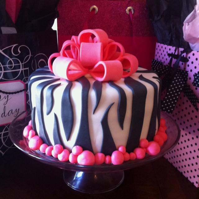 1000+ Ideas About Zebra Birthday Cakes On Pinterest