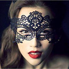 Femme Dentelle Casque-Mariage / Occasion spéciale / Décontracté / Extérieur Coiffure / Voile de cage à oiseaux / Masques 1 Pièce