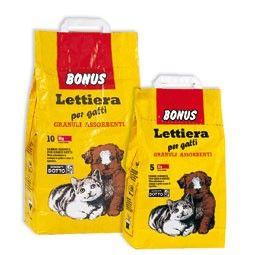 LETTIERA PER GATTI BONUS DA KG.10 http://www.decariashop.it/mangimi-per-gatti/8974-lettiera-per-gatti-bonus-da-kg10.html