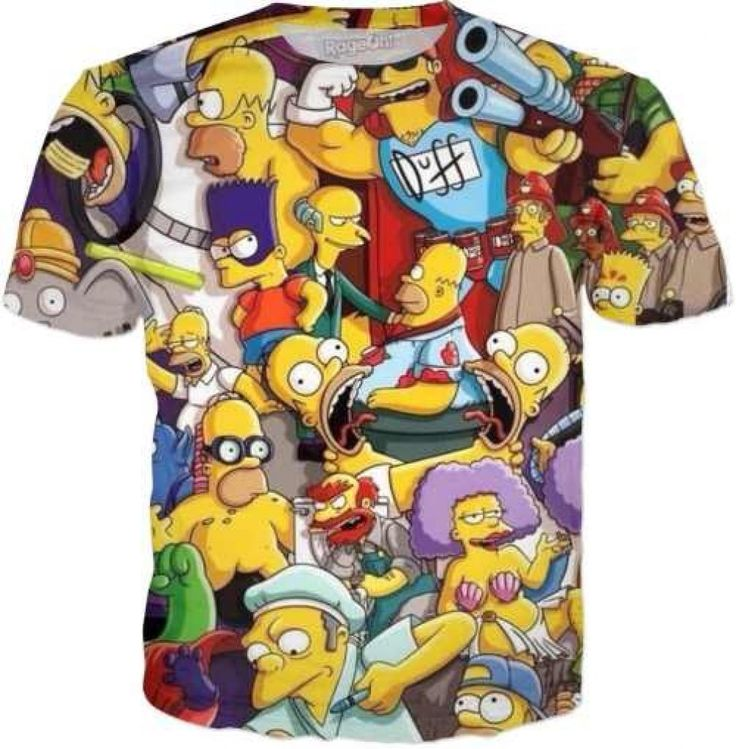Simpson's Mood T-Shirt – AWESOMAGE!