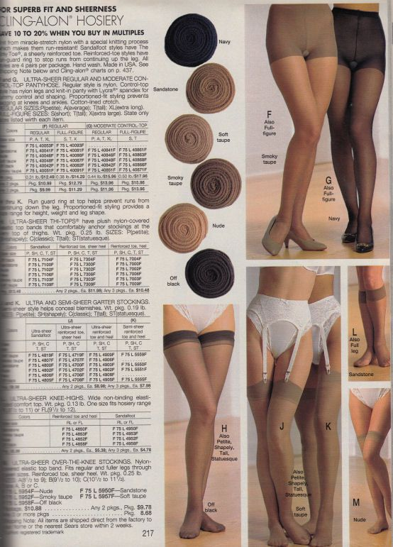 Sears 1992 Annual Catalog Things To Wear Pinterest Catalog Lingerie And Stockings