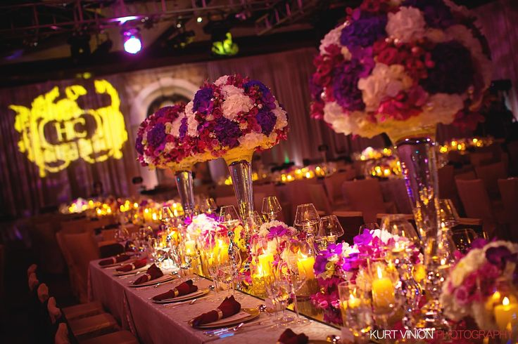 some serious floral decorations from H & C luxury wedding banquet in Hong Kong - taken at the Hotel Intercontinental