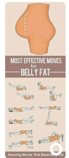 Most effective moves for belly fat | Posted By: AdvancedWeightLossTips.com