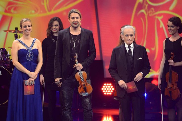 "jose carreras and david garrett | Nina Eichinger, David Garrett, Jose Carreras / 21. ""Jose Carreras ..."