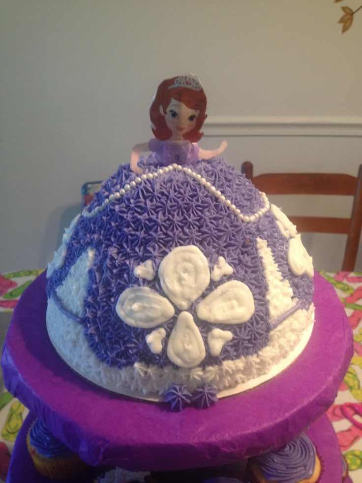 Sofia The First Cake Design Goldilocks : Sofia the first cake Princess Sophia party Pinterest