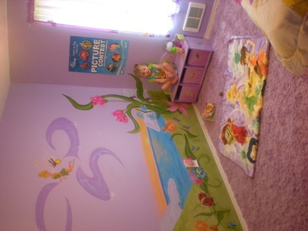 47 Best Images About Girls Tinkerbell Room On Pinterest