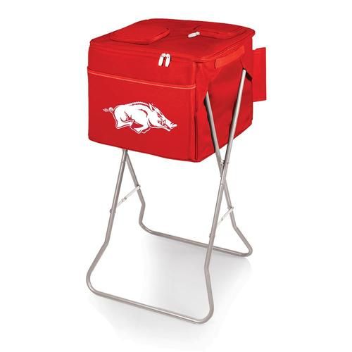 Arkansas Razorback Portable Party Cooler With Stand