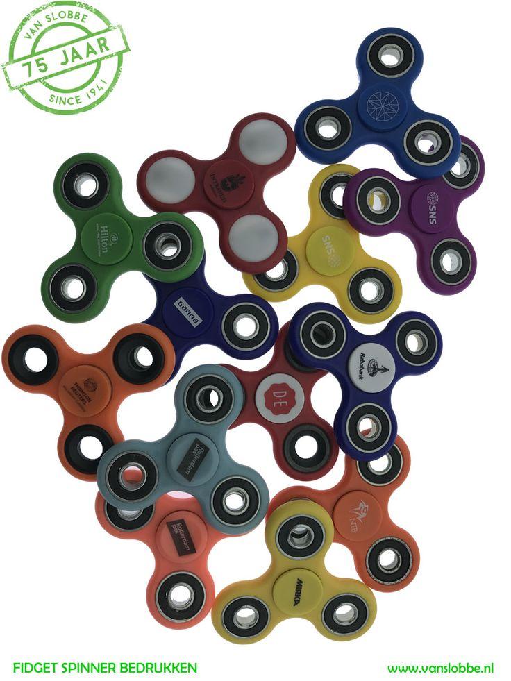 Fidget Spinner bedrukken met bedrijfslogo >>> https://www.vanslobbe.nl/nl/premiums-give-aways/premiums/fidget-spinner-bedrukken