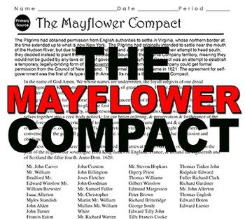 What was the mayflower compact and what is its significance in american history