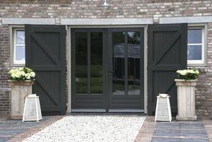 Bekijk de foto van bofleur met als titel mooie tuindeueren. cocoonwonen.nl en andere inspirerende plaatjes op Welke.nl.