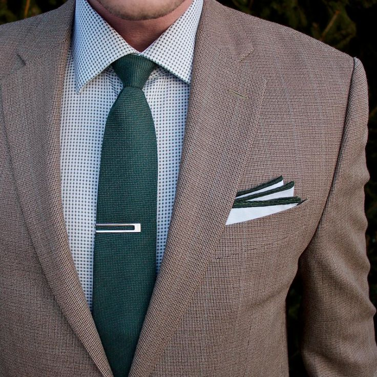 How to accessorize with menswear greens.