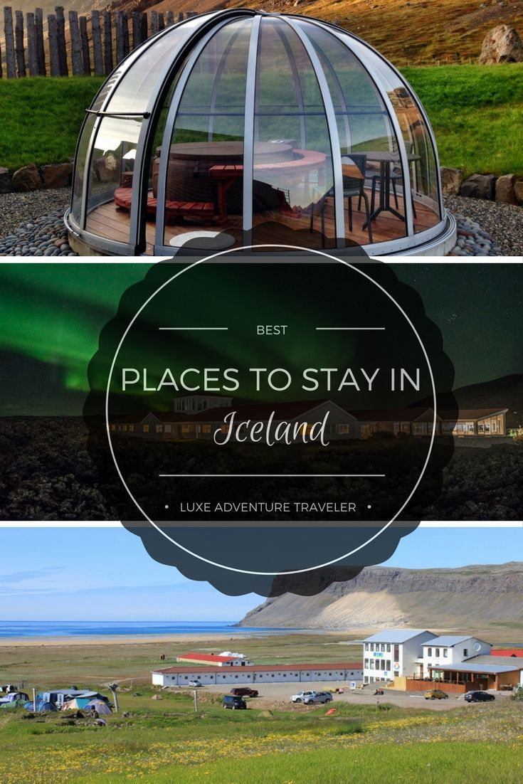 The Best Places to Stay in Iceland