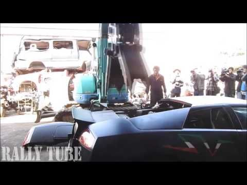 LAMBORGHINI Destroyed and Scrapped - YouTube