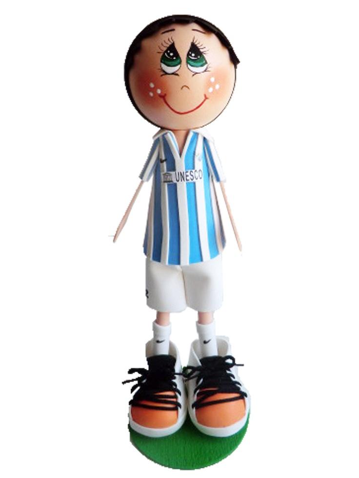 Fofucho jugador Málaga CF 2012/2013 de apróximadamente 25cm de altura.  Disponible también en 35cm y 50cm de altura.  Regalo ideal para los aficionados malaguistas. Personaliza  a tu fofucho con tu jugardor boquerón favorito.