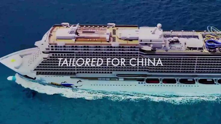 Круизные суда предназначенные для китайского рынка for Chinа