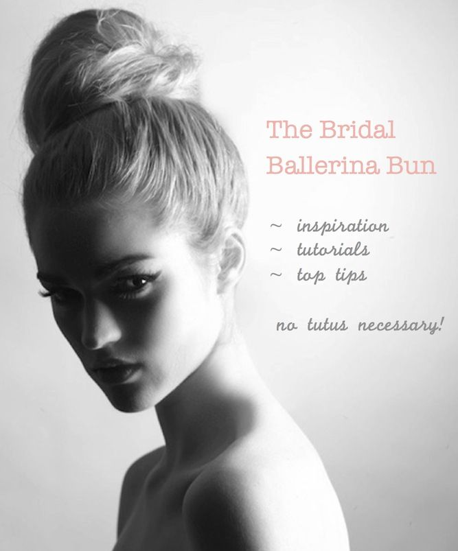 The ballerina bun ~ lots of inspiration, tips and DIY tutorials http://su.pr/1GIpNS