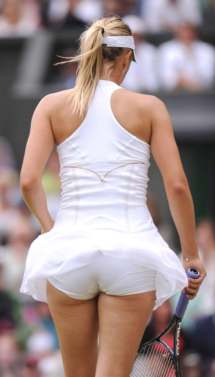 Maria sexy sharapova upskirt